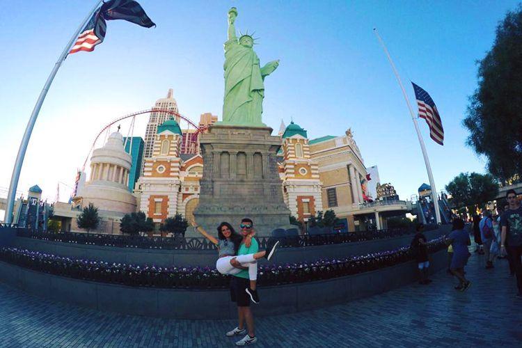La Estatua de la Libertad en el hotel New York-New York