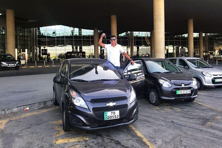 Cómo alquilar coche en Jordania