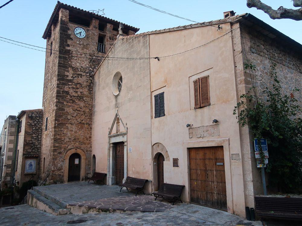 Iglesia de Sant Joan Baptista en Estellencs