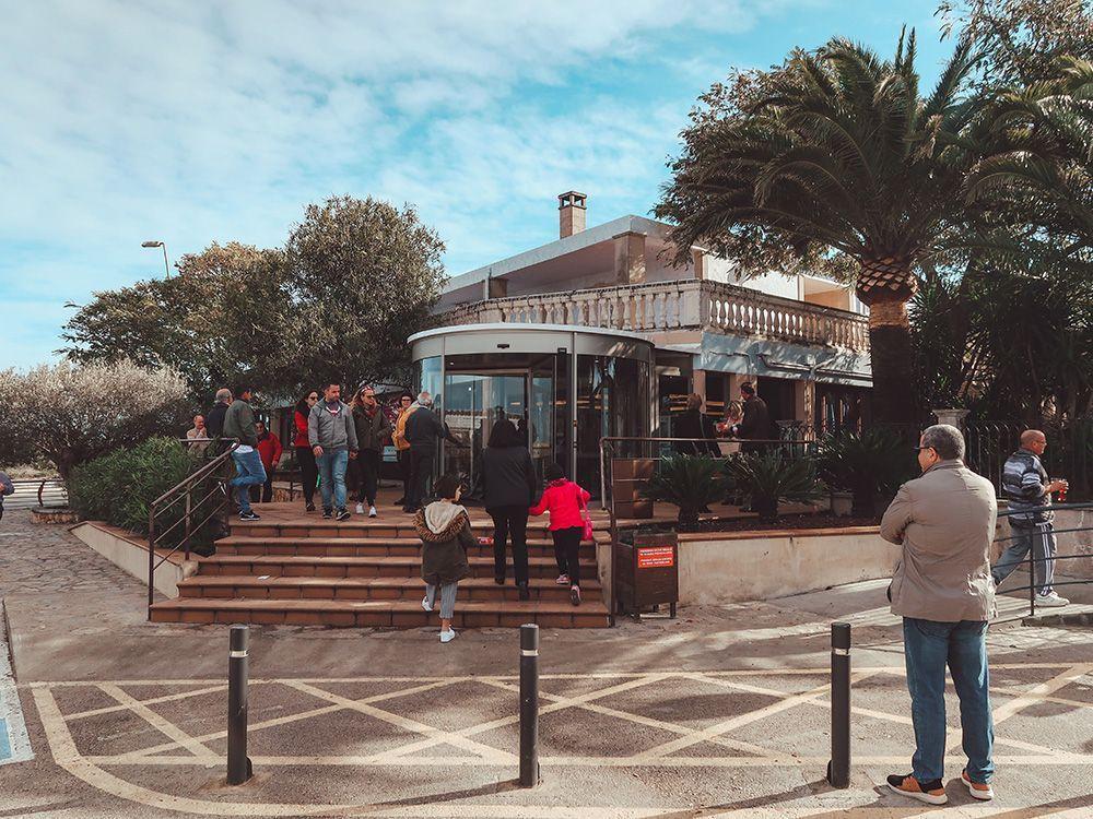 Uno de los restaurantes más económicos de esta lista de los mejores restaurantes de Mallorca