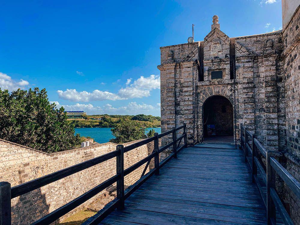 Entrada al Castillo de Jagua
