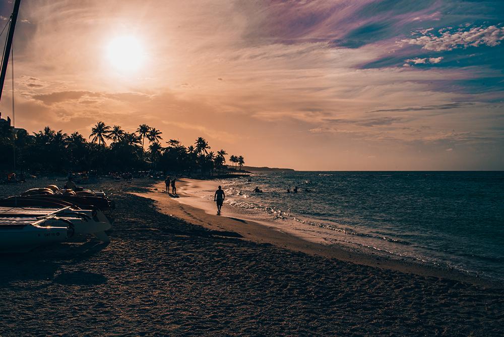 Atardecer en Playa Bani