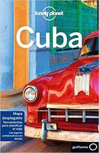 Portada de la guía de la Lonely Planet de Cuba, en ella encontraras más opciones sobre dónde alojarse en Varadero