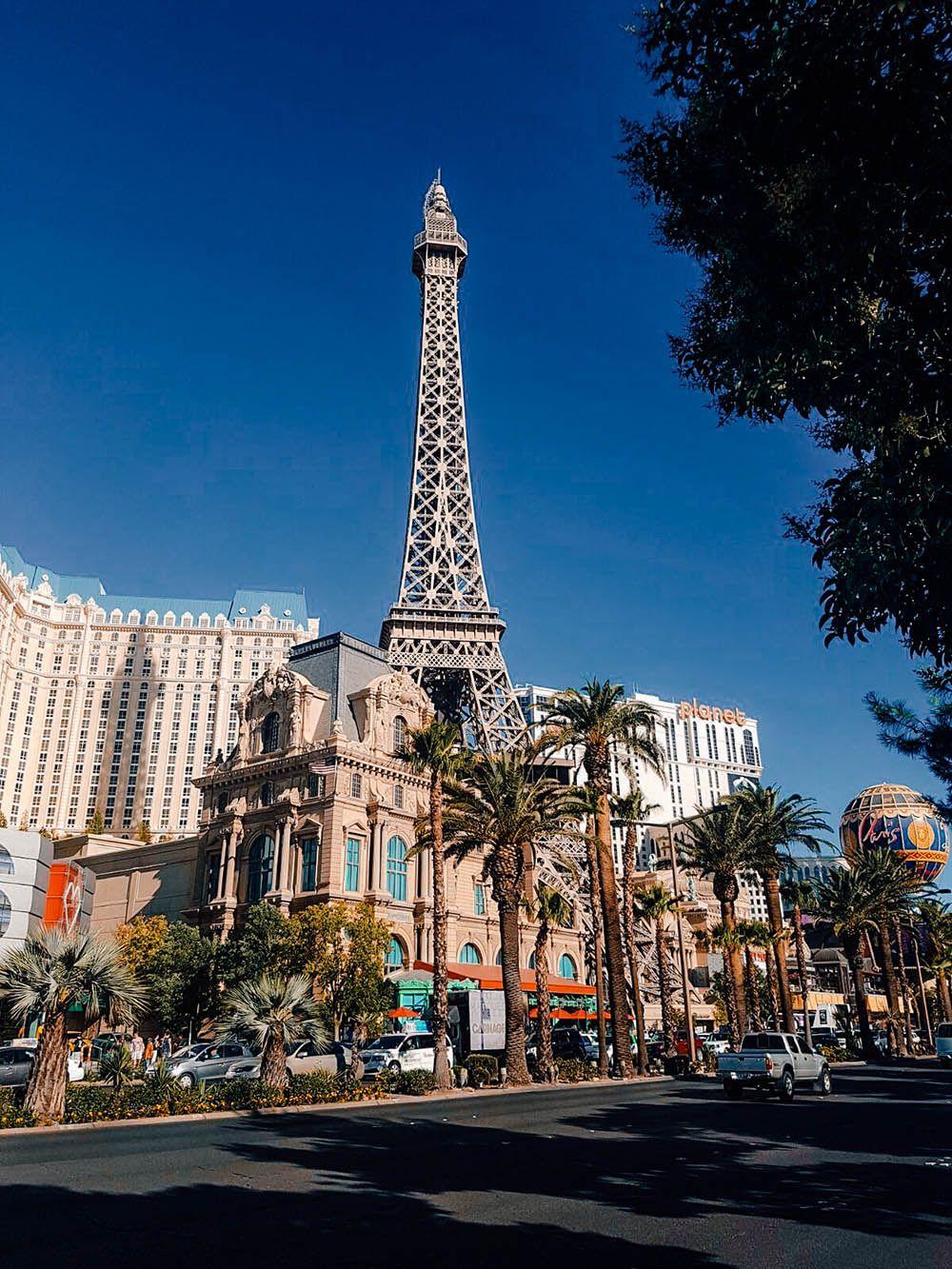 La Torre Eiffel del Casino Paris Las Vegas