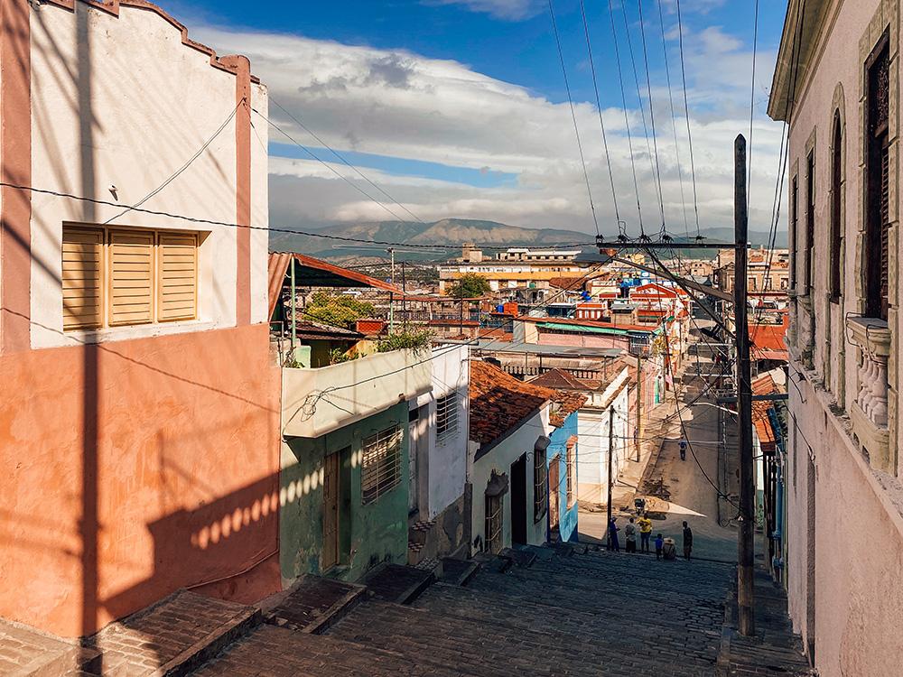 Las escaleras de la calle Padre Pico, son la entrada al barrio de Trivolí