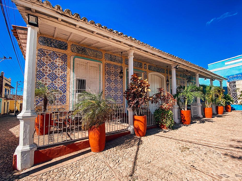 Típica casa de Trinidad