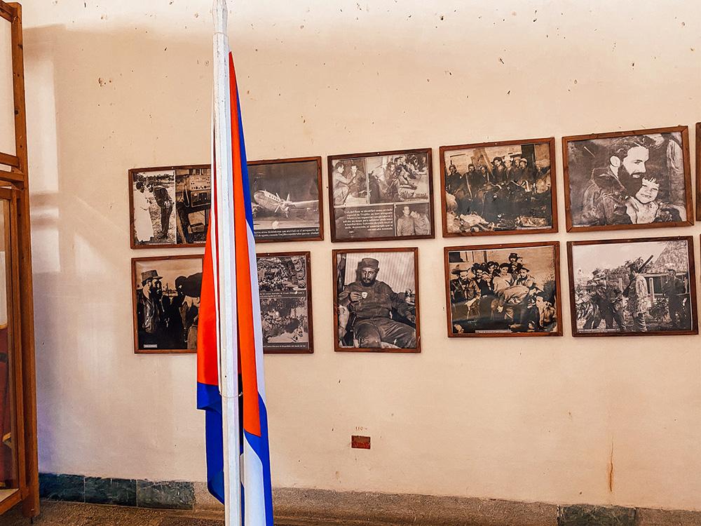 Fotos del interior del Museo de la Lucha Contra Bandidos