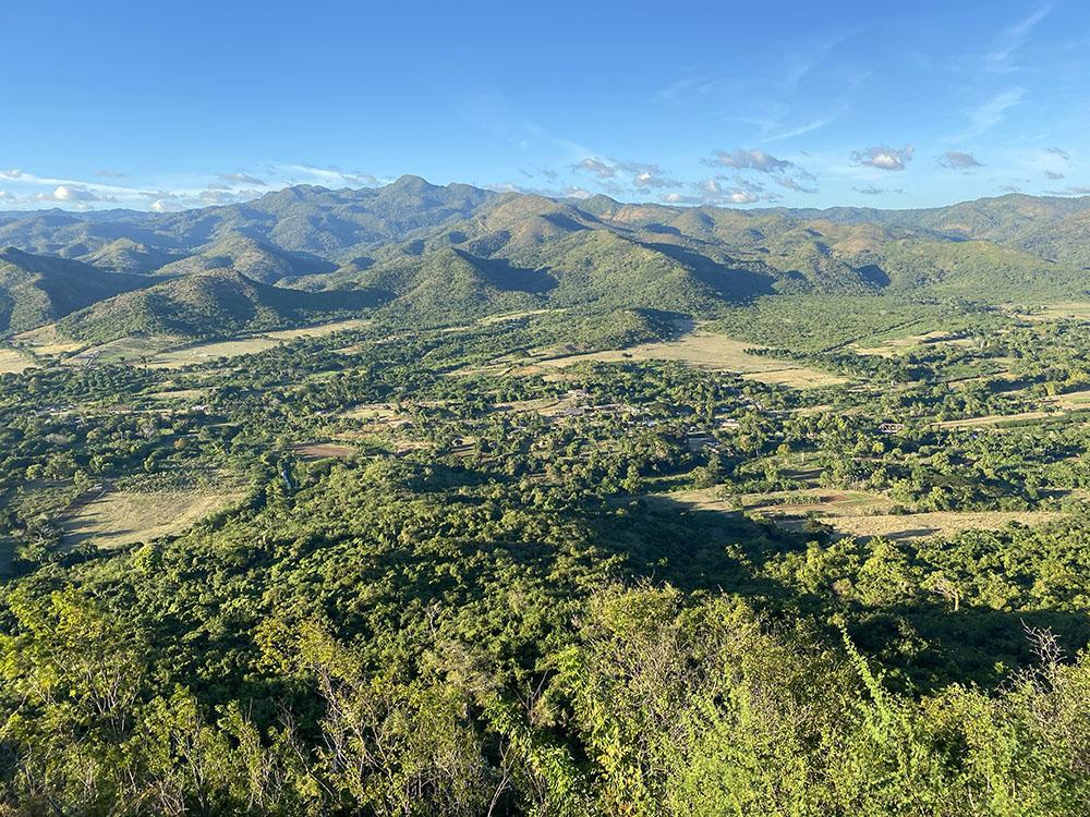 Valle de los ingenios desde el cerro de la Vigía