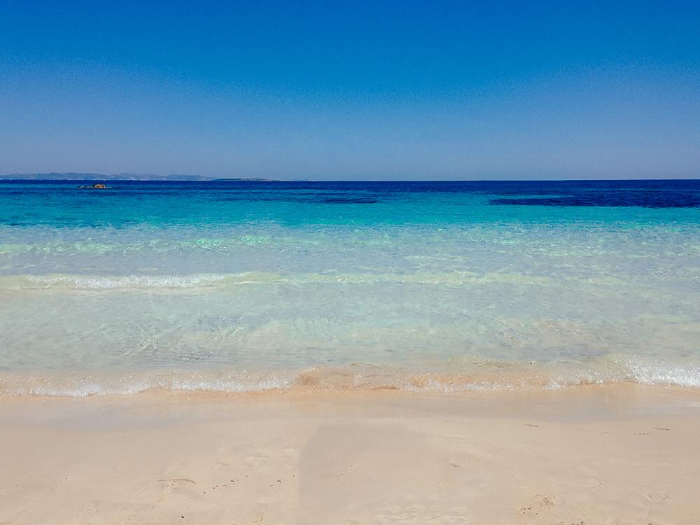 Playa de ses Canyes es una playa muy tranquila
