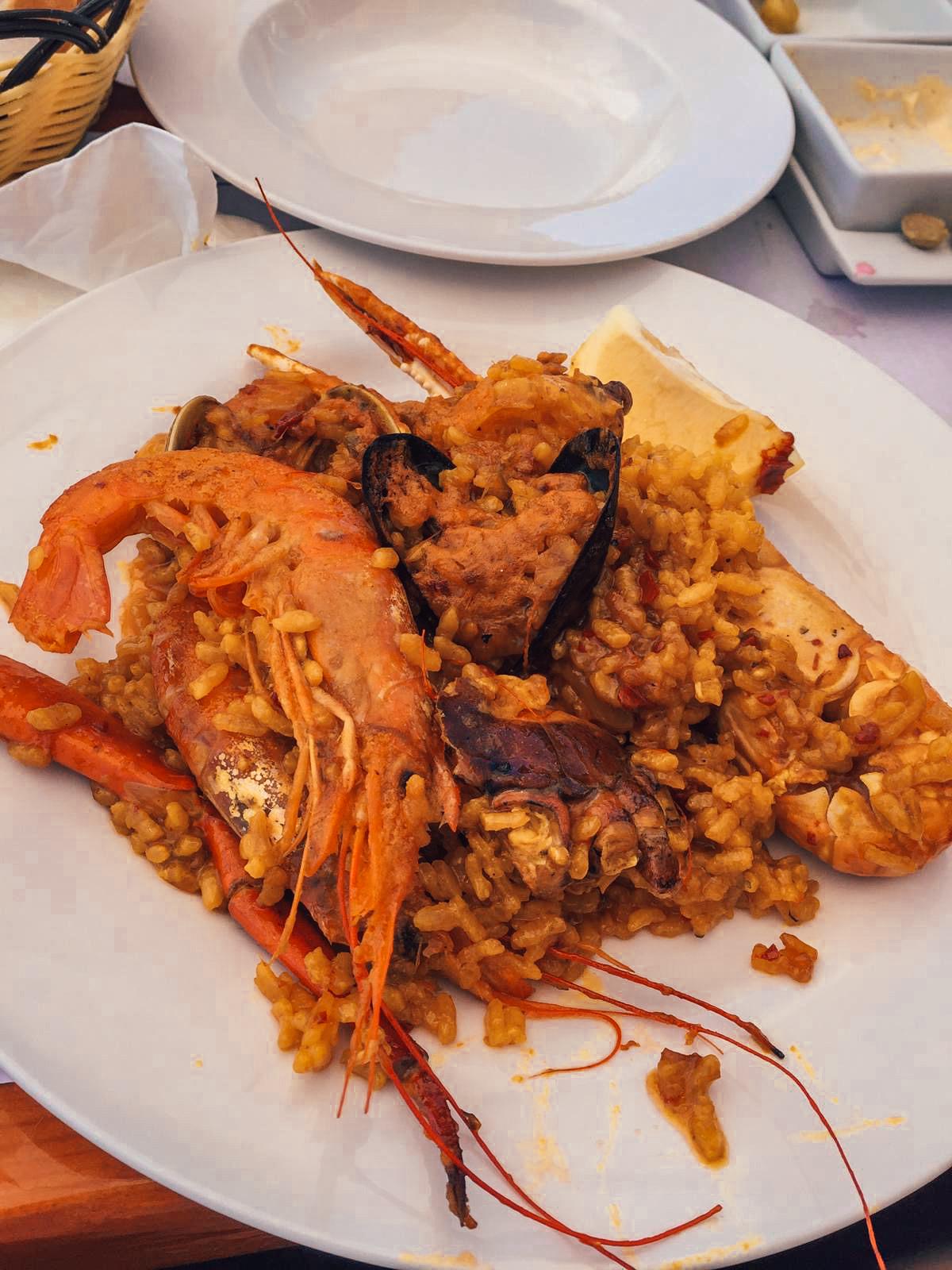Una de las mejores paellas de Formentera