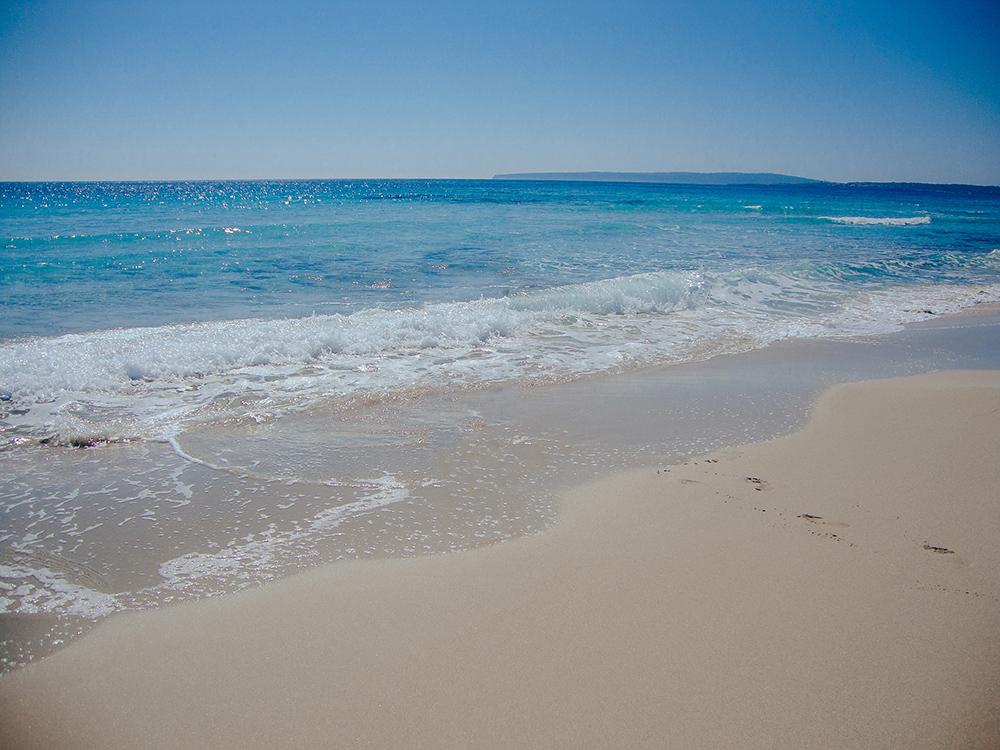 Playa de Levante, una de las 10 mejores playas de Formentera