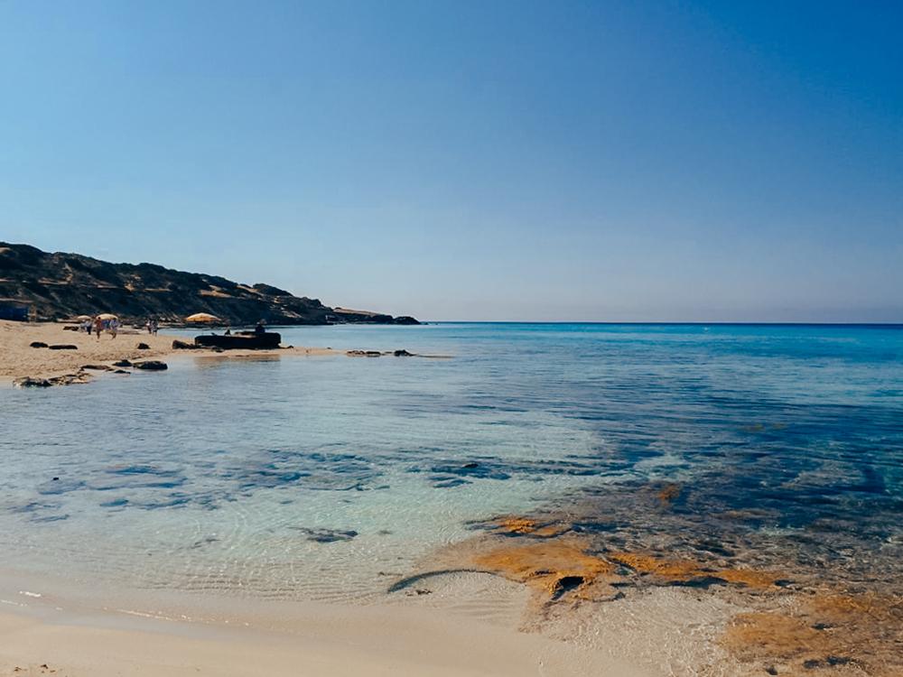 Playa Es Arenals forma parte de playa Migjorn