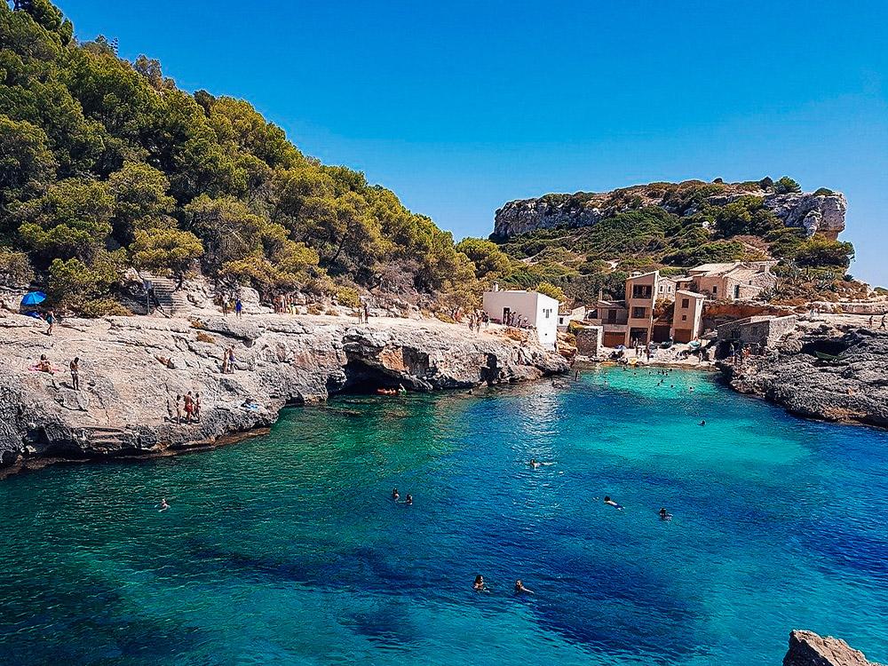 Cala S'Almunia es una de las 20 mejores playas de Mallorca