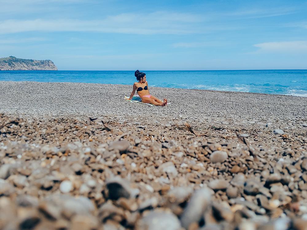 La playa d'es Coll Baix es una de nuestras playas favoritas de Mallorca