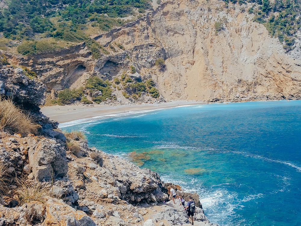 La playa d'es Coll Baix es una de nuestras playas favoritas de las lista de las mejores playas y calas de Mallorca