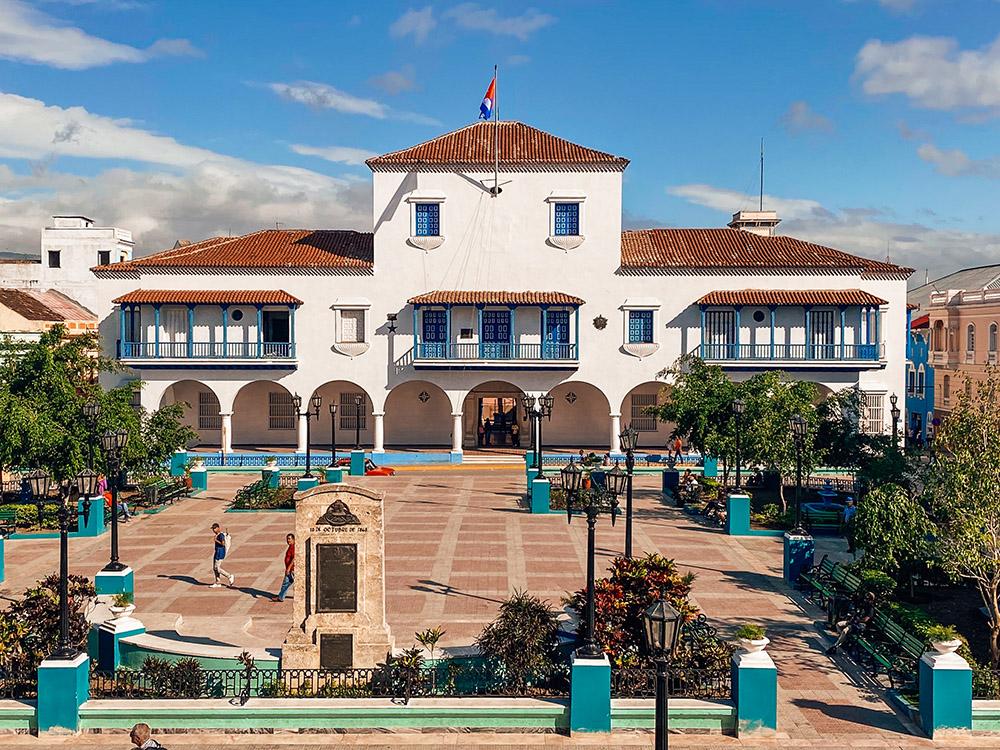 El ayuntamiento De Santiago de Cuba, de gran importancia en la historia del país