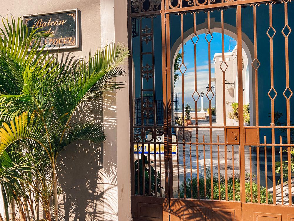 Balcón de Velázquez desde afuera