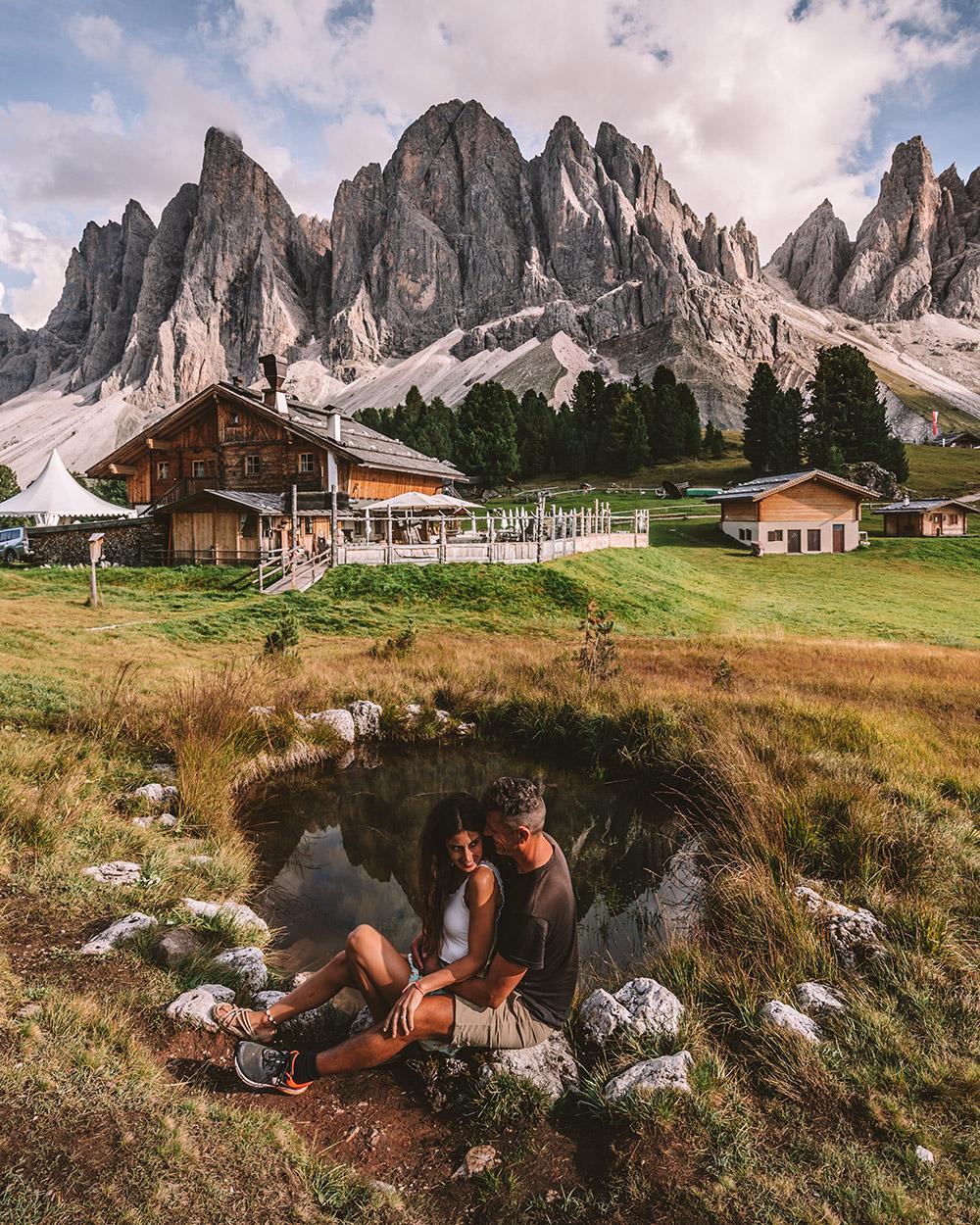El refugio Odle forma parte de los 10 imprescindibles que ver en Dolomitas