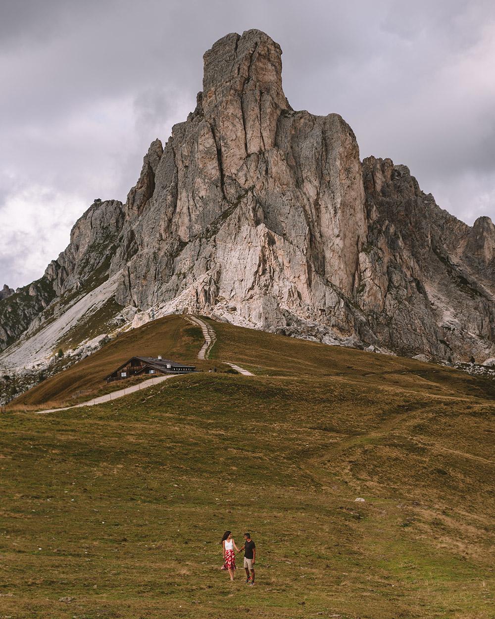 El passo Giau es otro de los 10 imprescindibles que ver en Dolomitas