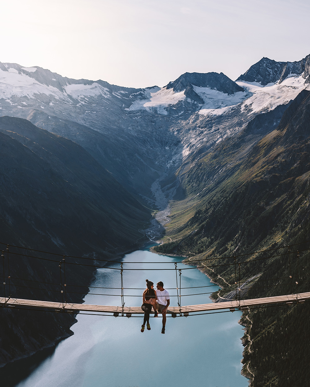 Uno de los puentes más bonitos de Austria