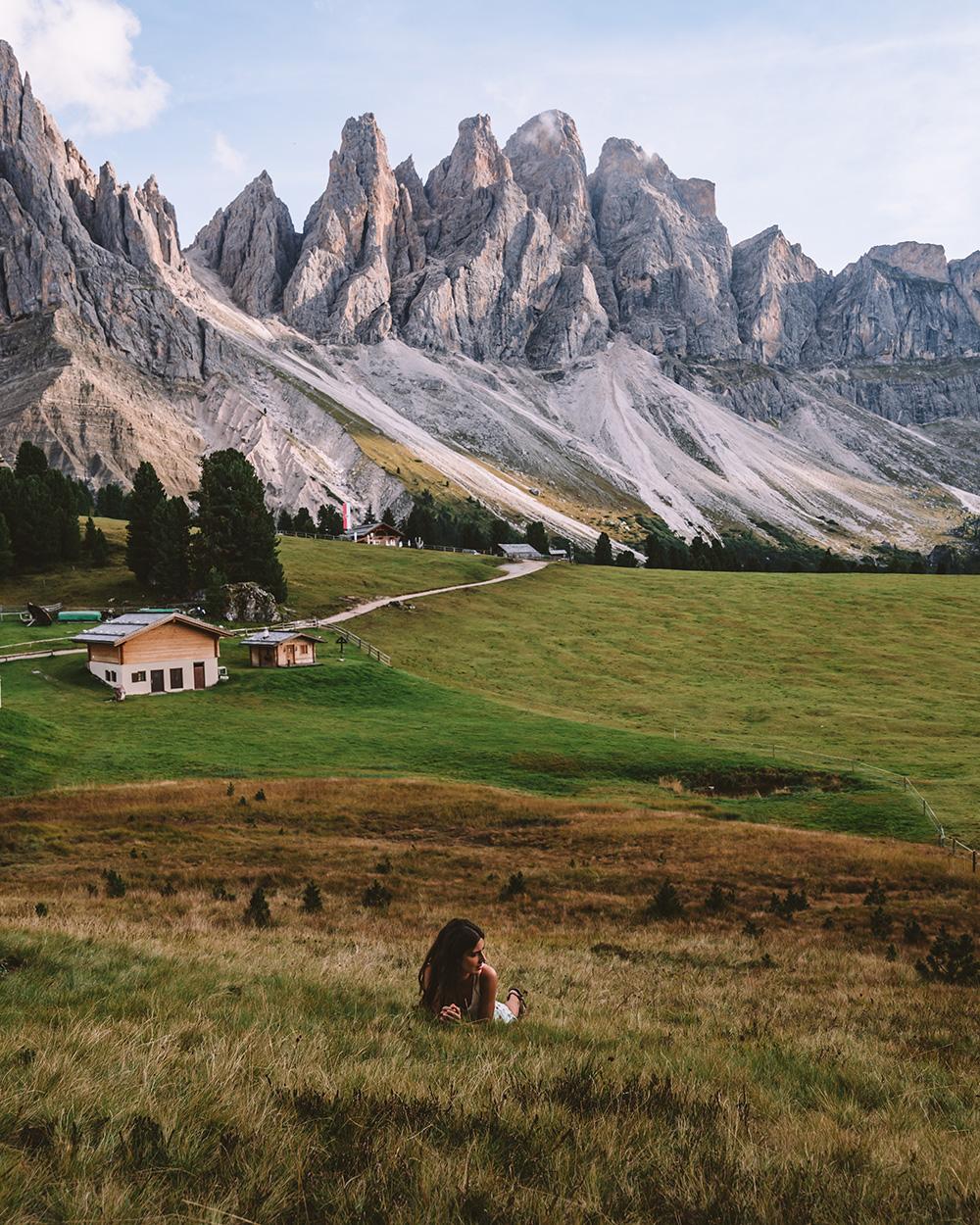 El refugio de Odle es un lugar impresionante, no lo dejes pasar en tu ruta de viaje a Dolomitas