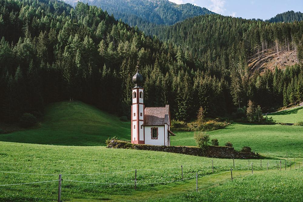 San Giovanni in Ranui no podía faltar en la ruta de viaje a Dolomitas