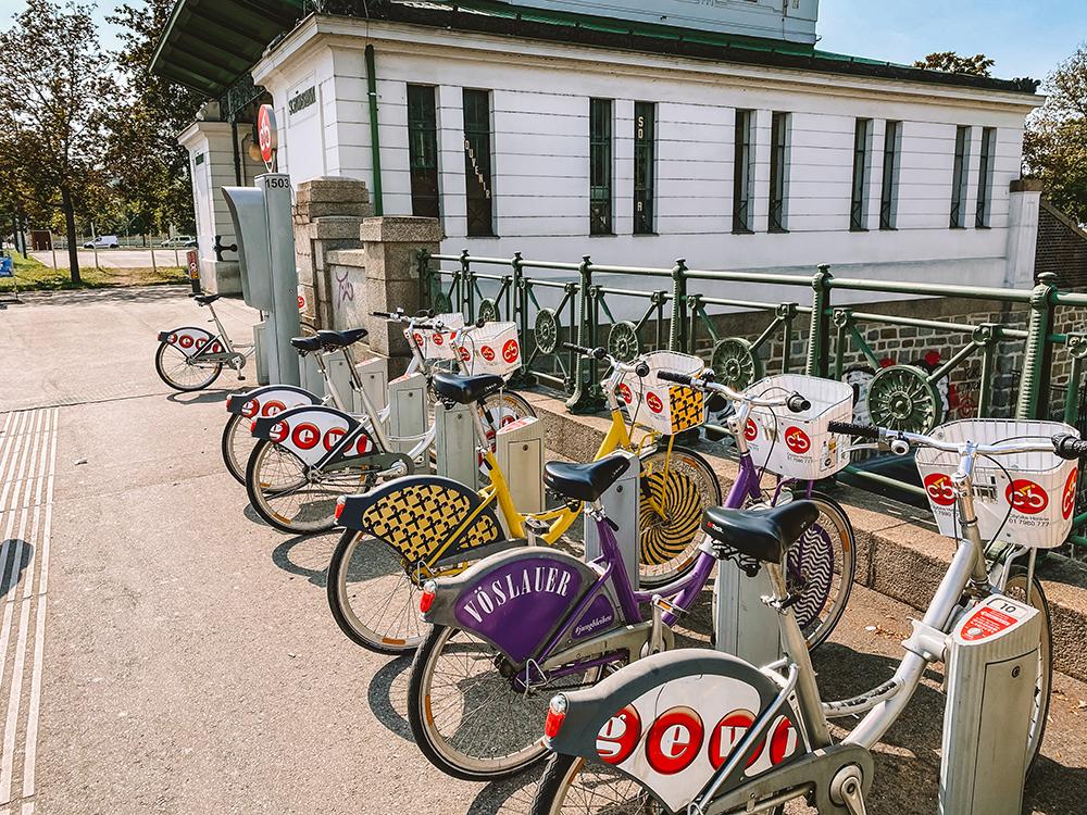 Citybike es una de las formas de cómo moverse por Viena