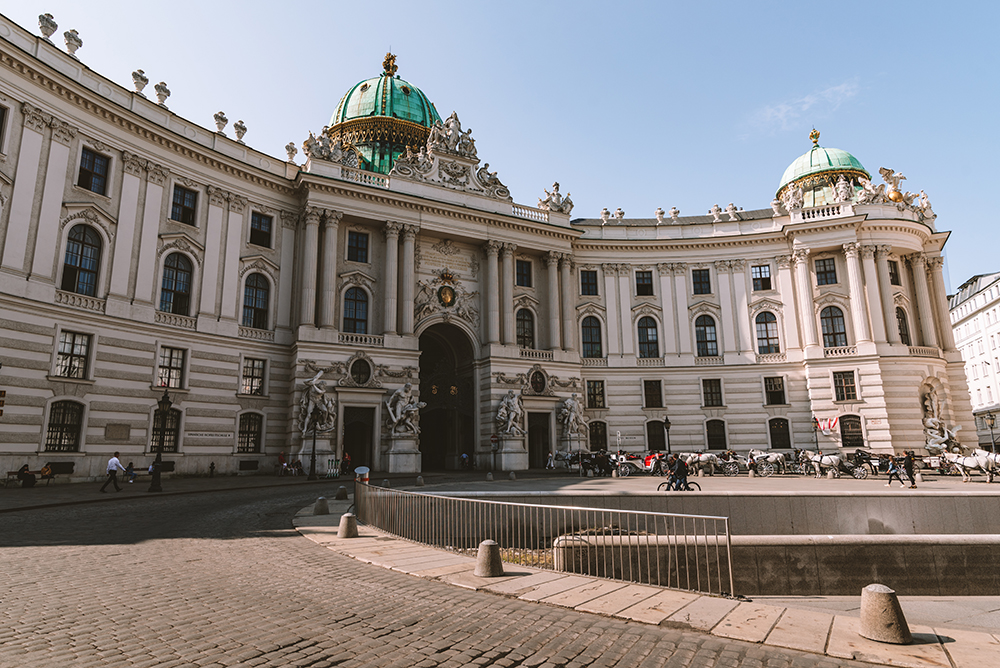 Centro del casco histórico de Viena