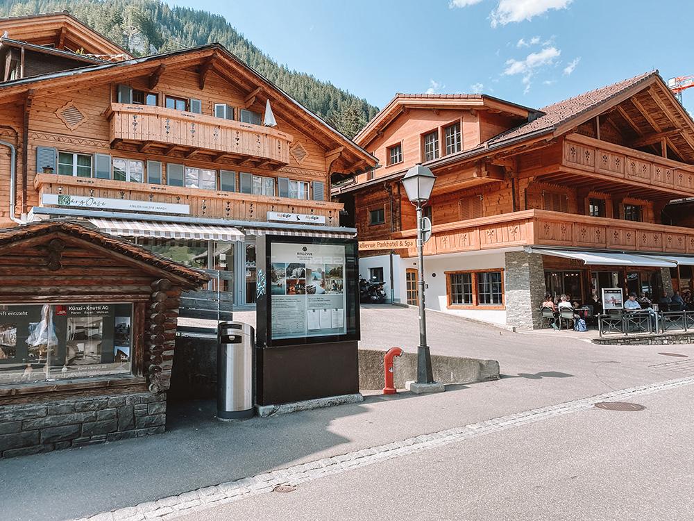 El centro del pueblo es uno de los imprescindibles que ver en Adelboden
