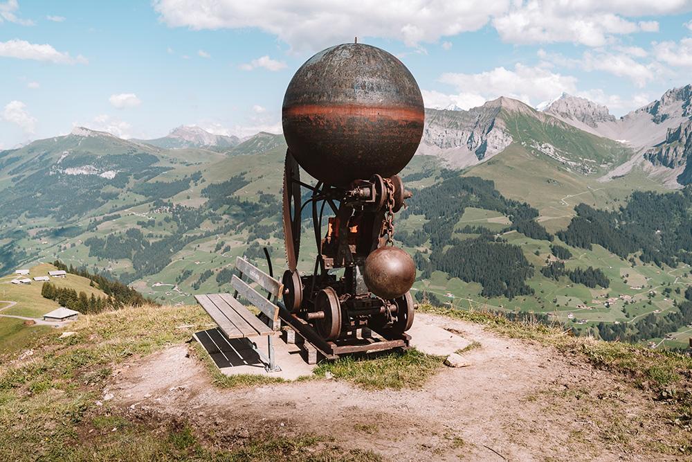 Fotografia de los alrededores de Adelboden