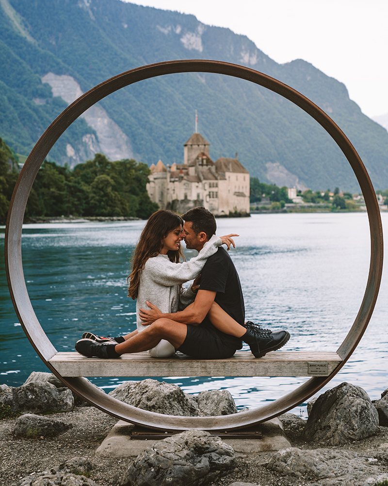 Montreaux es uno de los lugares imprescindibles que ver en Suiza