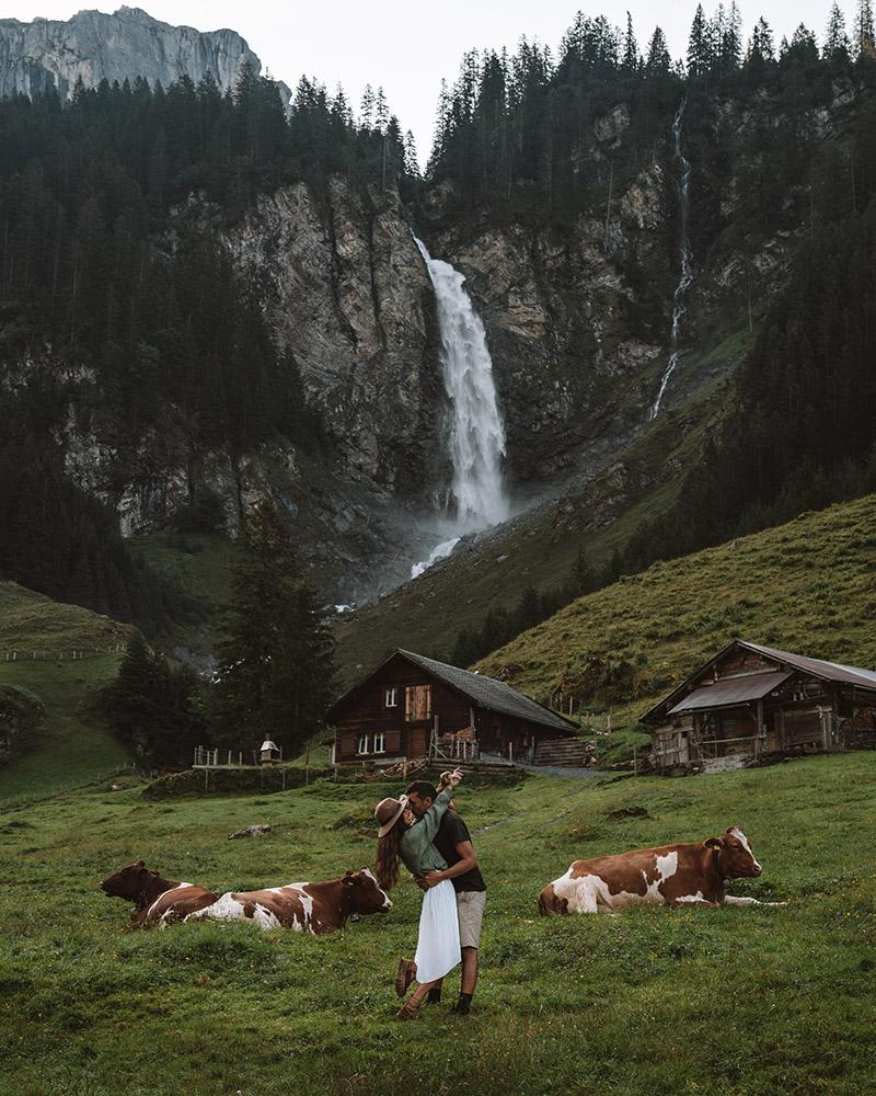 El pueblo de Alp Aesch es uno de los imprescindibles que ver en Suiza
