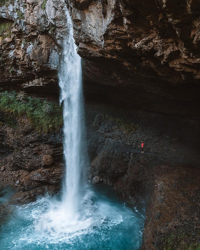 La cascada de Berglistüber es un imprescindible que ver en Suiza