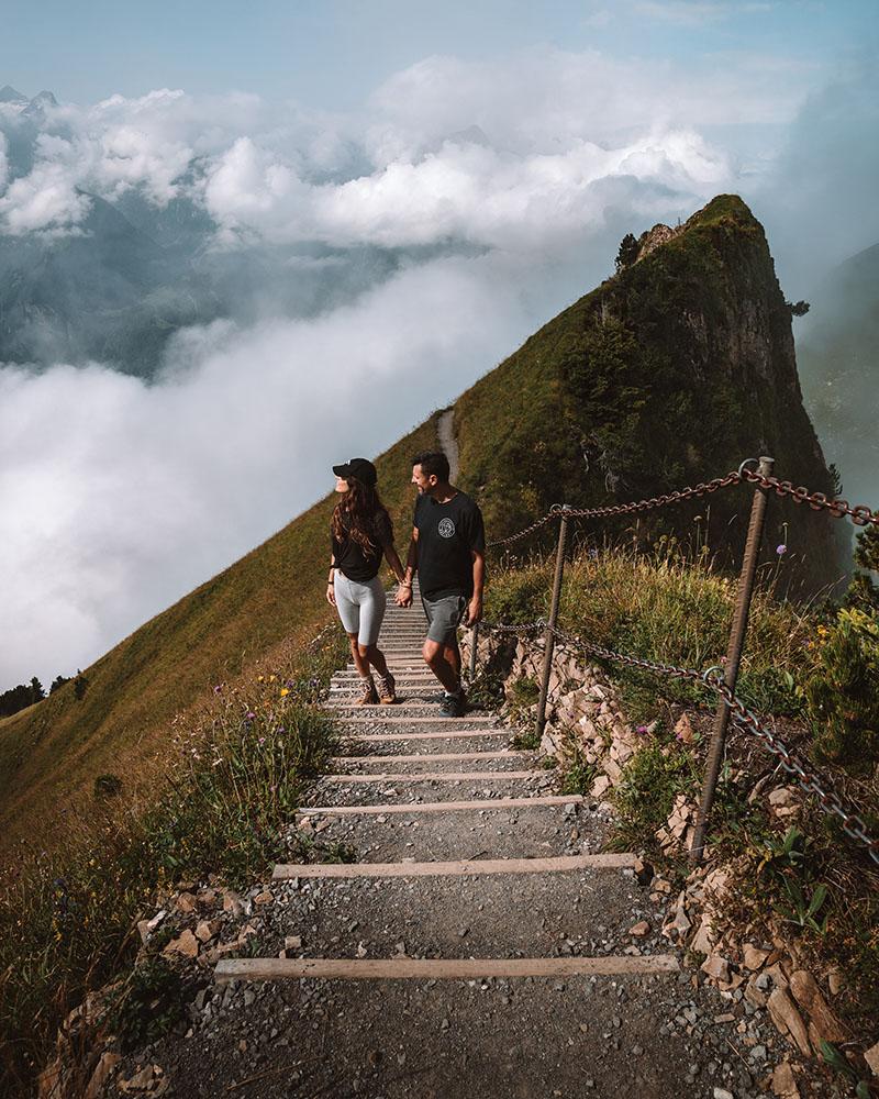 La excursión de Stoos en una de las imprescindibles que ver en Suiza