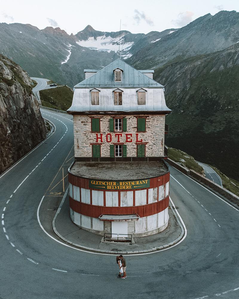 El Hotel Belvedere es otro de los lugares imprescindibles que ver en Suiza