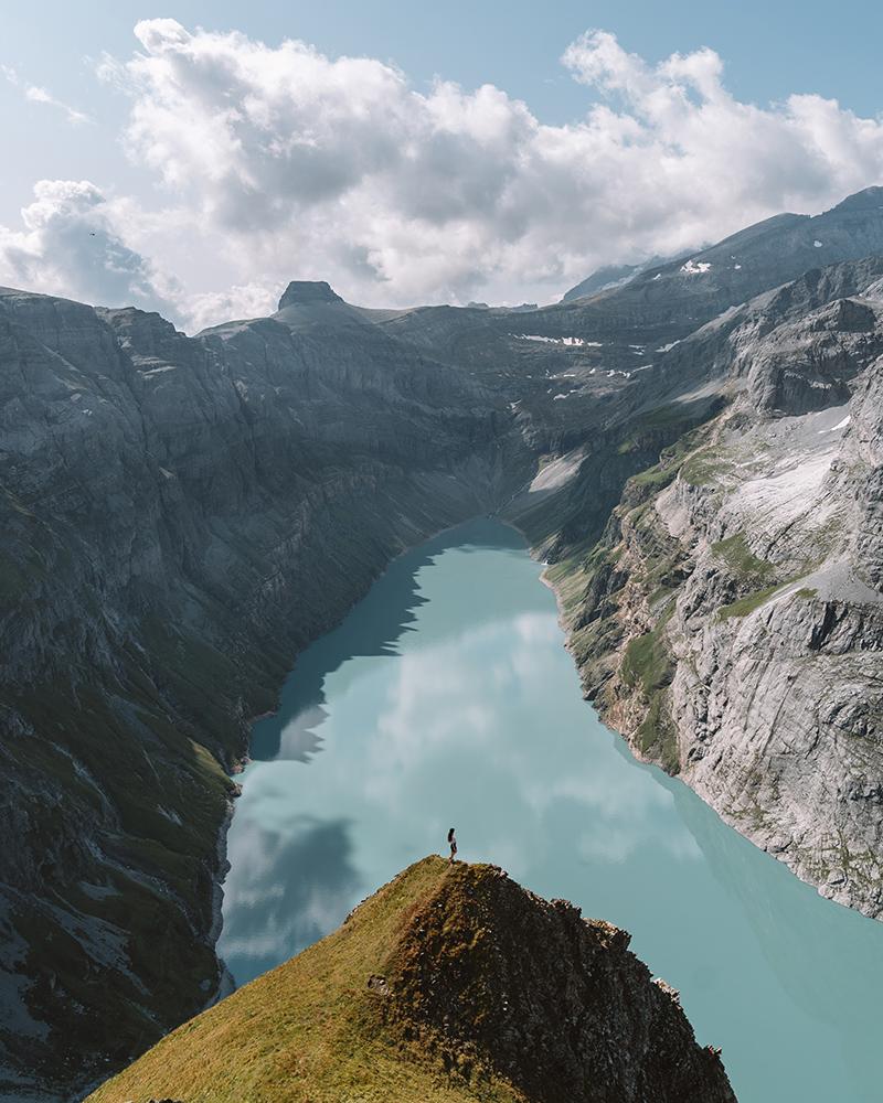 El magnifico lago Limmerensee es uno de los imprescindibles que ver en Suiza