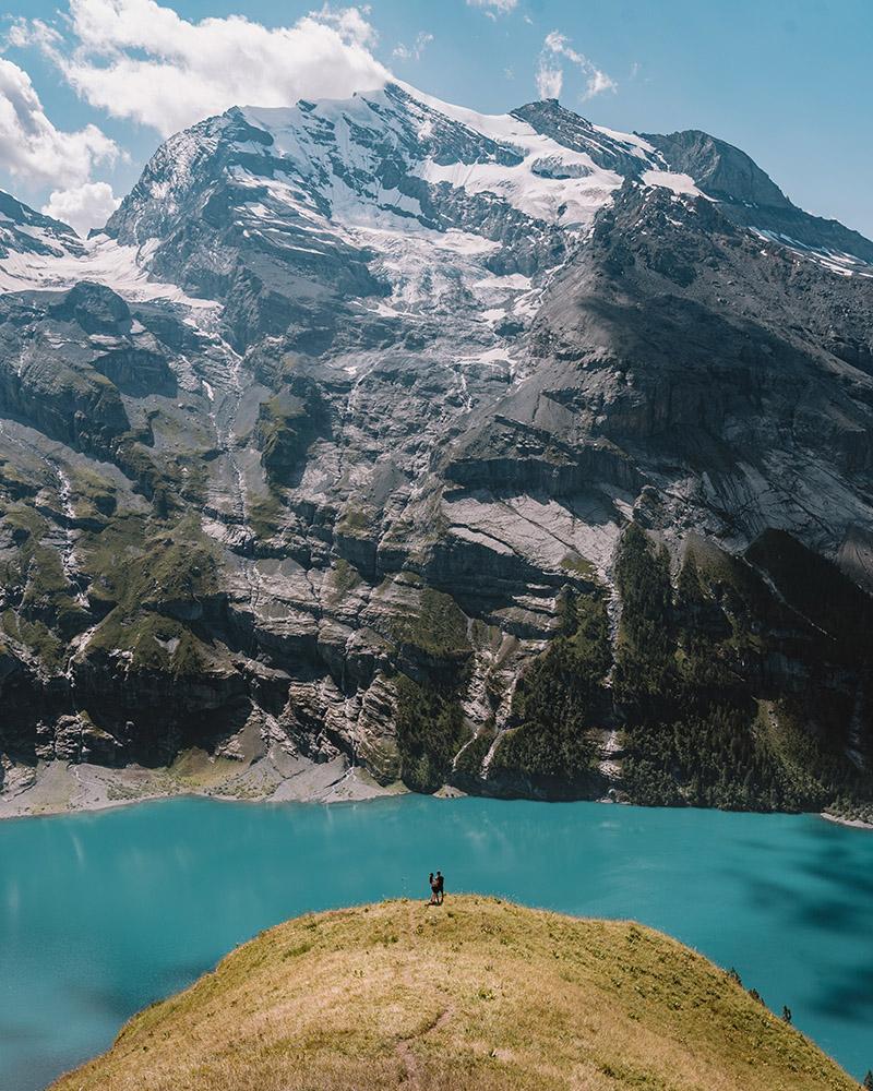 Un imprescindible en cualquier ruta por Suiza, el Lago Oeschinensee