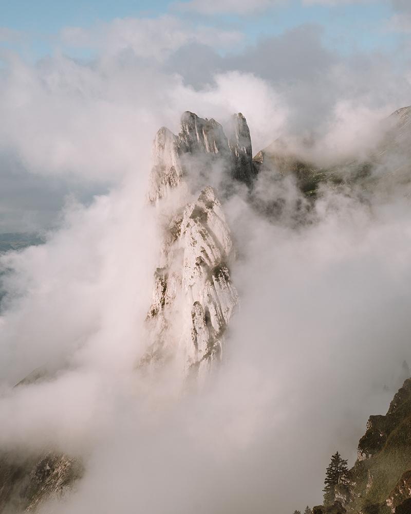El Saxer Lucke fue el primero de los imprescindibles que ver en Suiza que el clima no nos dejo disfrutar en todo su esplendor