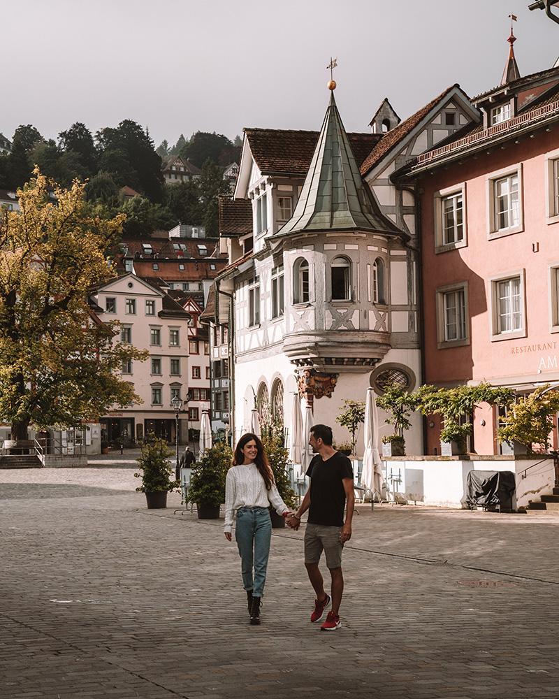 St. Gallen fue la población que más nos gusto en nuestro viaje por Suiza