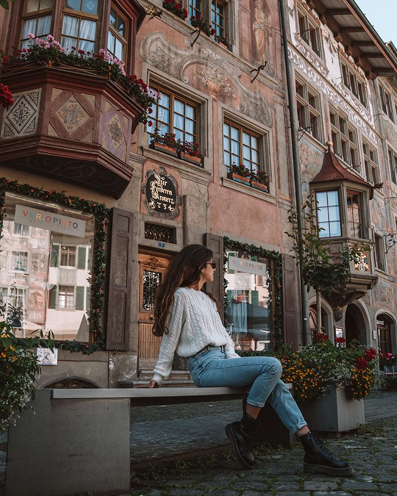 Stein am Rhein es uno de los pueblos que no puede faltar en tu viaje por Suiza