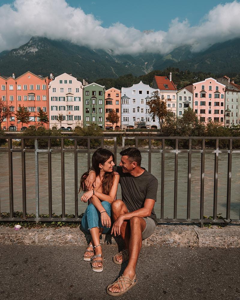Innsbruck es una parada obligatoria en tu camino al puente colgante de Olpererhütte
